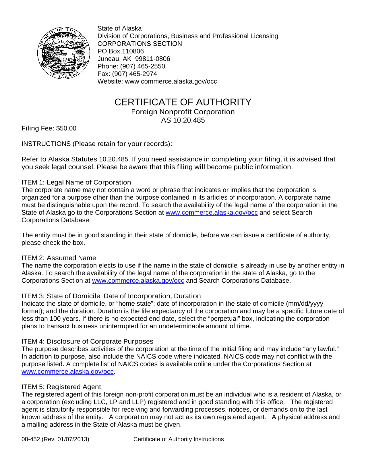alaska-foreign-nonprofit-certificate-of-authority