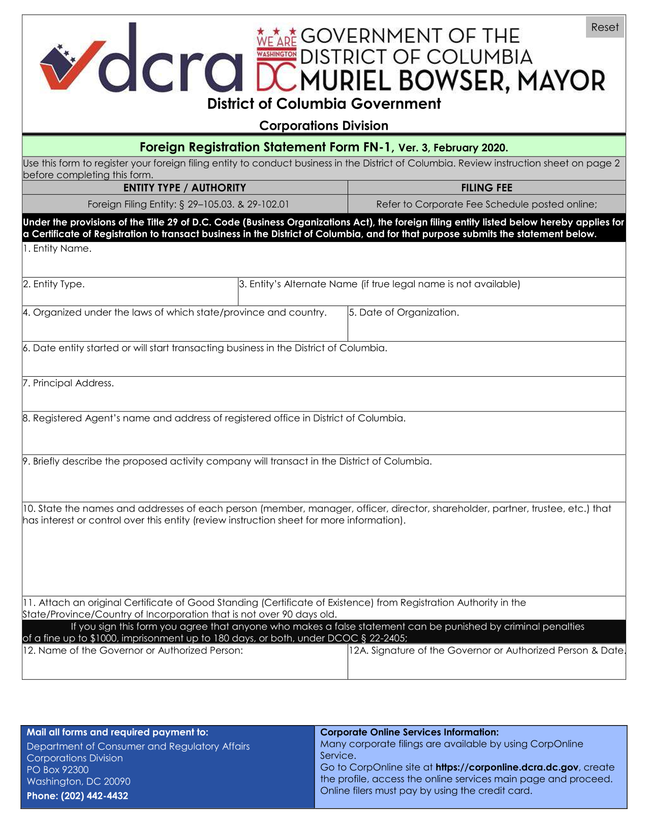 district-of-columbia-foreign-corporation-foreign-registration-statement