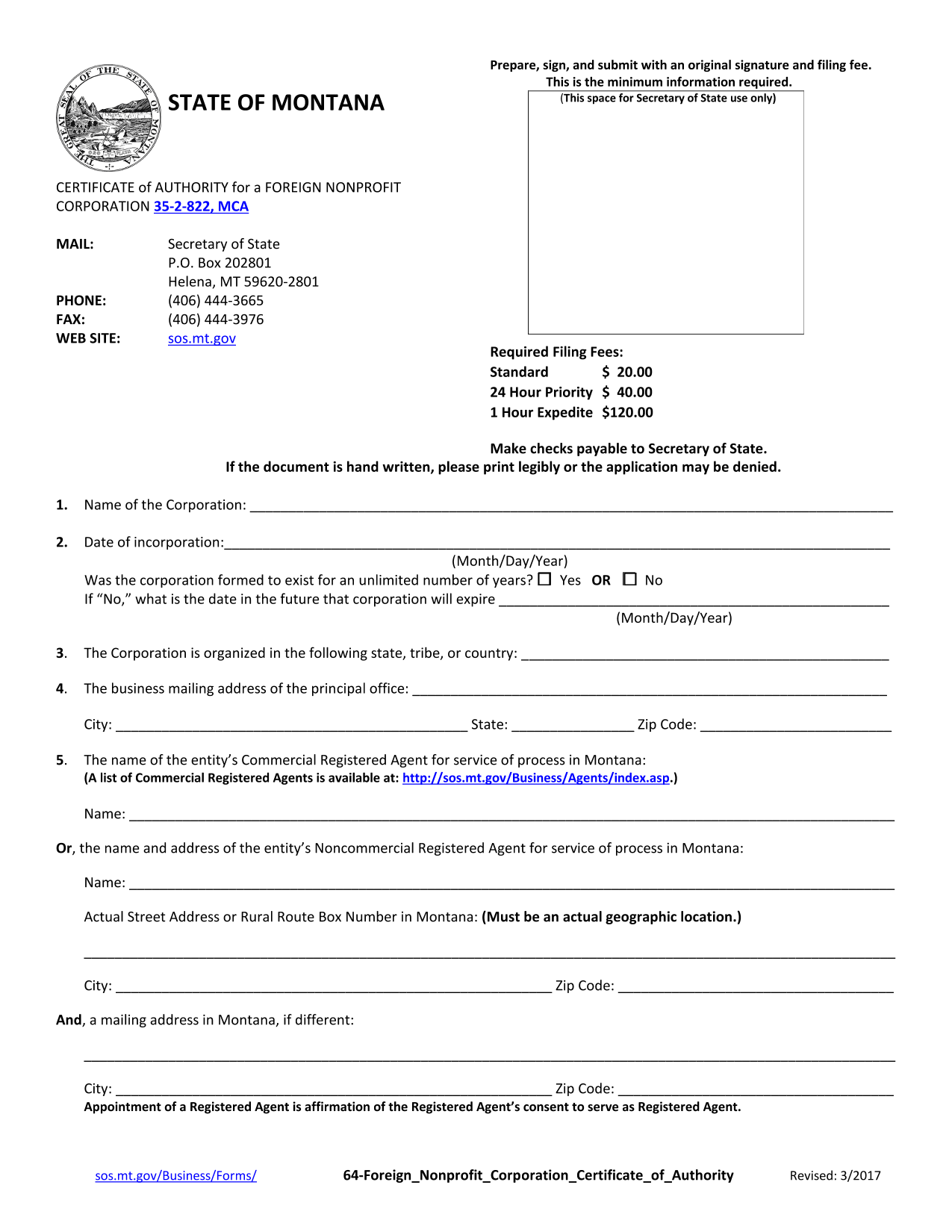 montana-certificate-of-authority-for-foreign-nonprofit-corporation