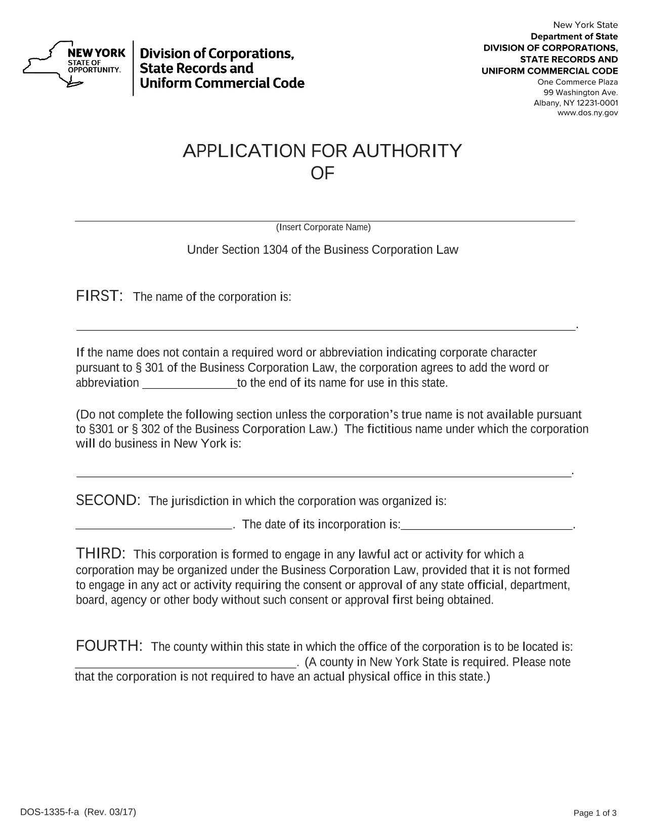 new-york-foreign-corporation-application-for-authority