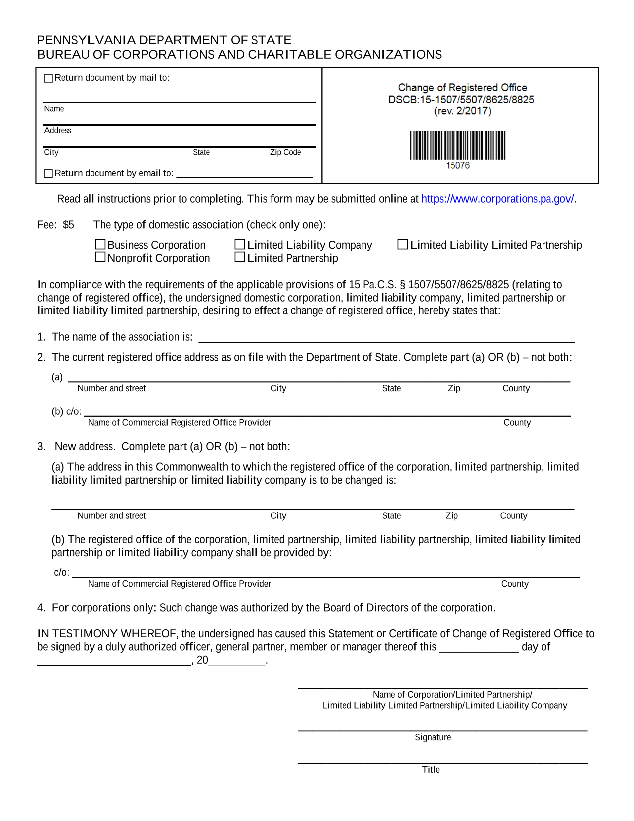 pennsylvania-statement-of-change-of-registered-office
