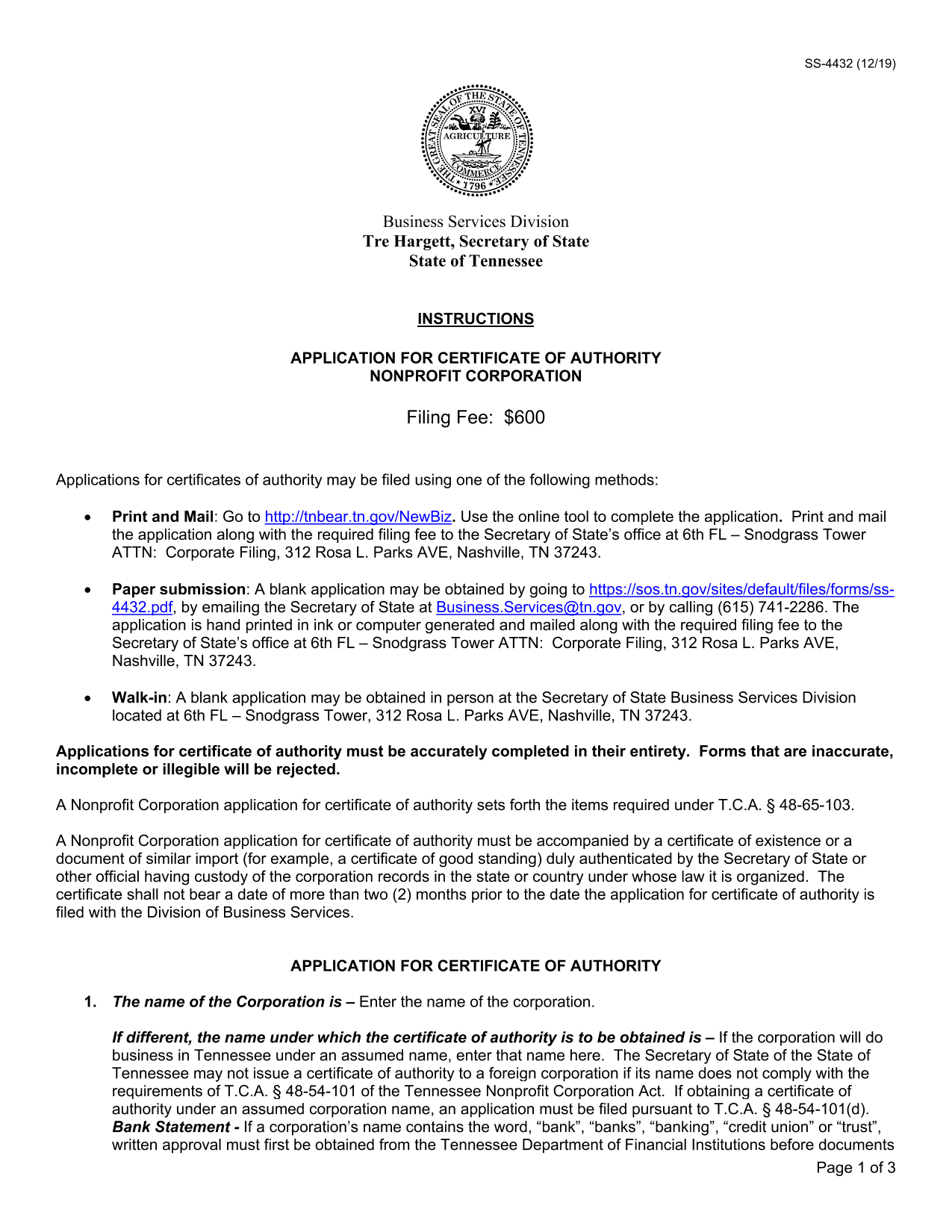 tennessee-application-for-certificate-of-authority-for-a-nonprofit-organization