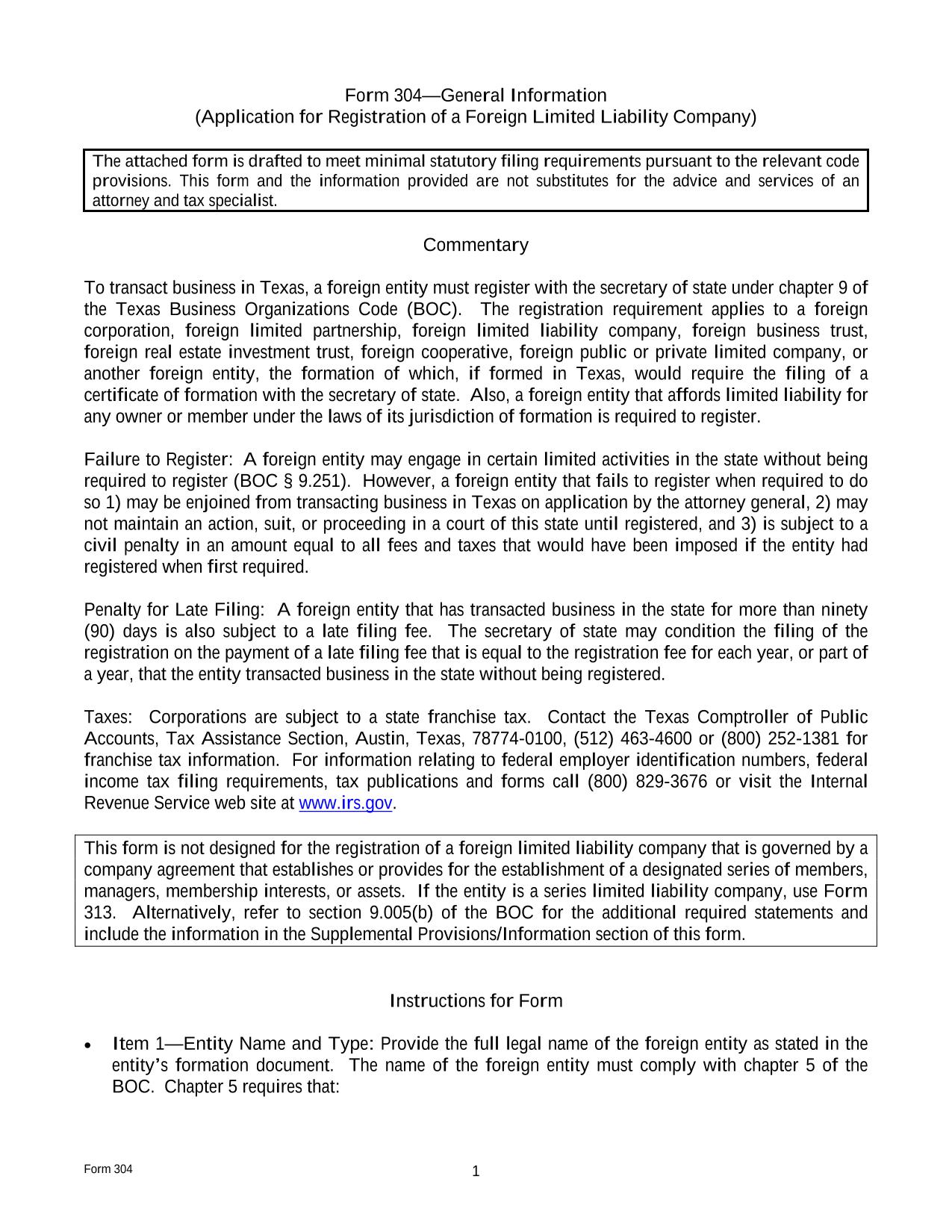 texas-foreign-llc-application-for-registration