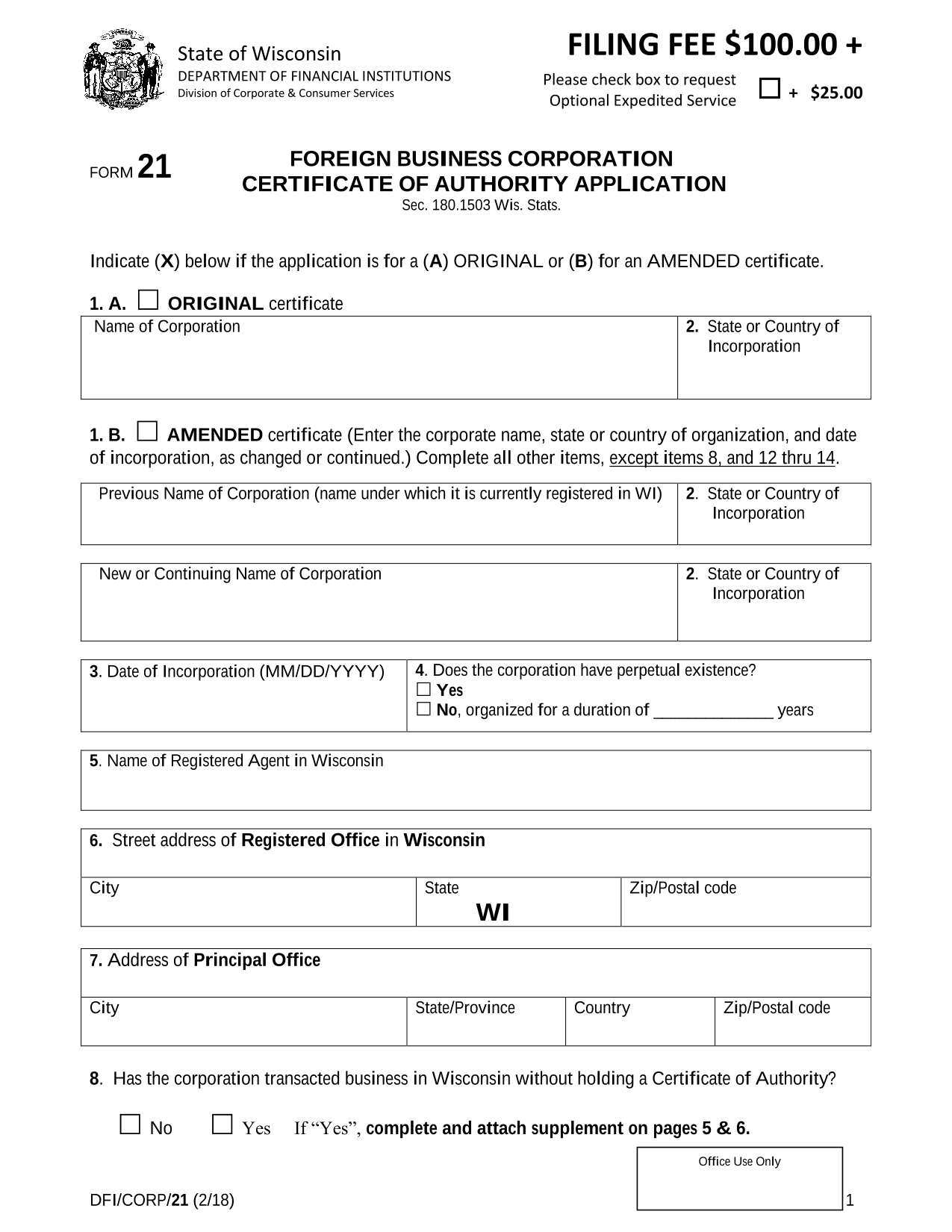 wisconsin-foreign-corporation-certificate-of-authority-application