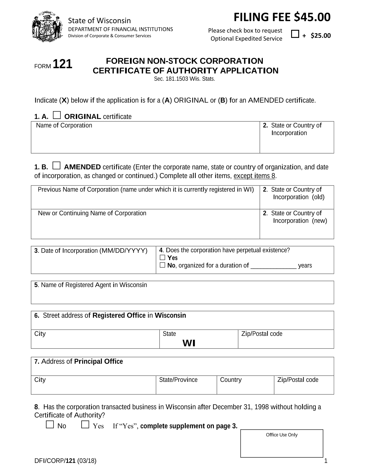 wisconsin-foreign-nonstock-corporation-certificate-of-authority-application