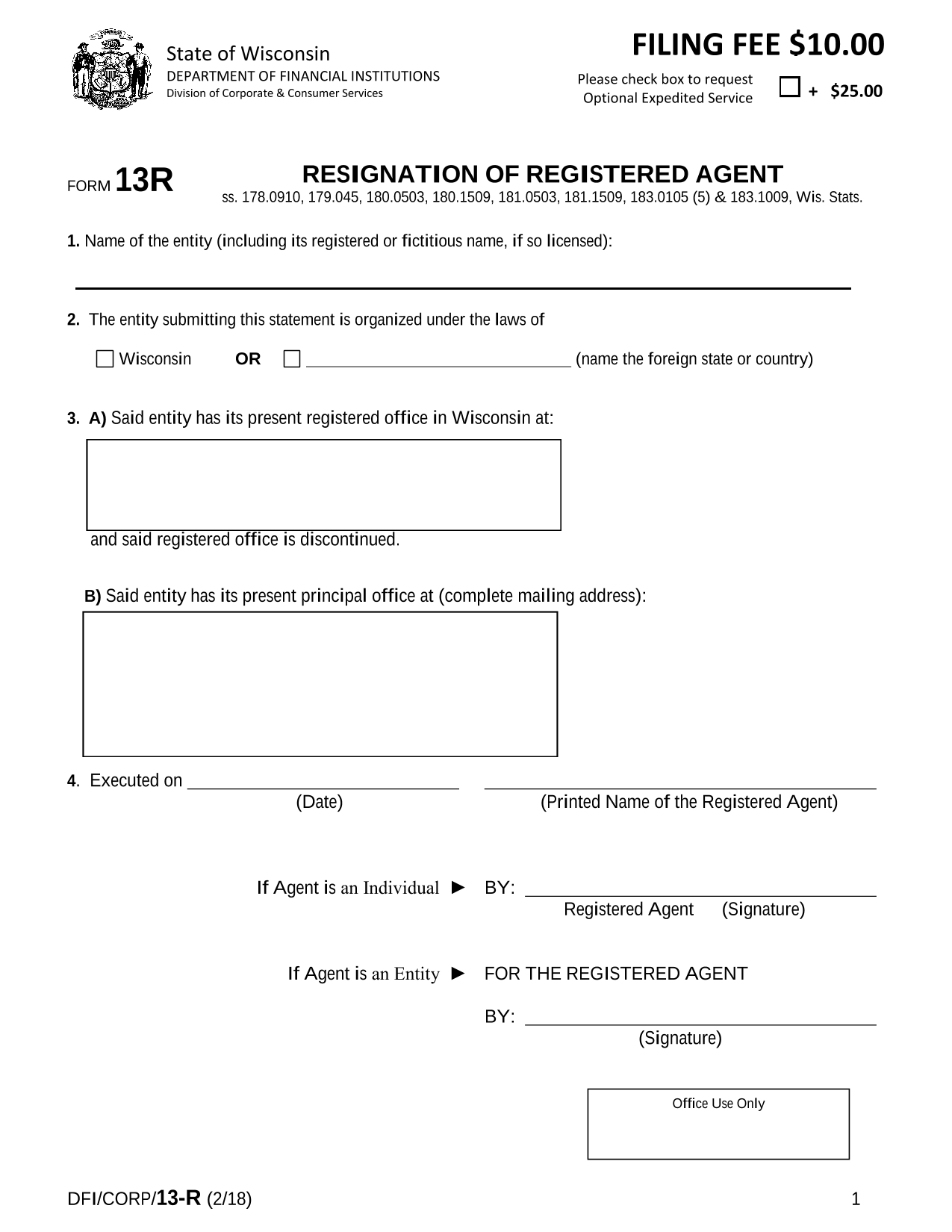 wisconsin-resignation-of-registered-agent