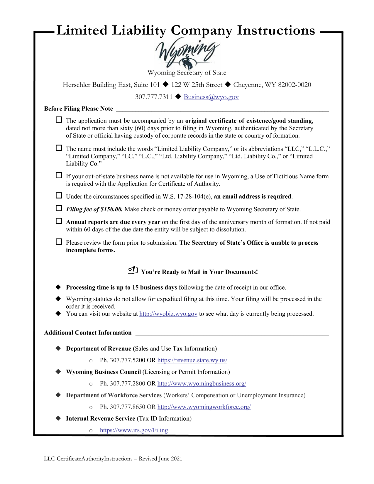wyoming-foreign-llc-application-for-certificate-of-authority